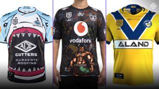 NRL Nines 2020 jerseys