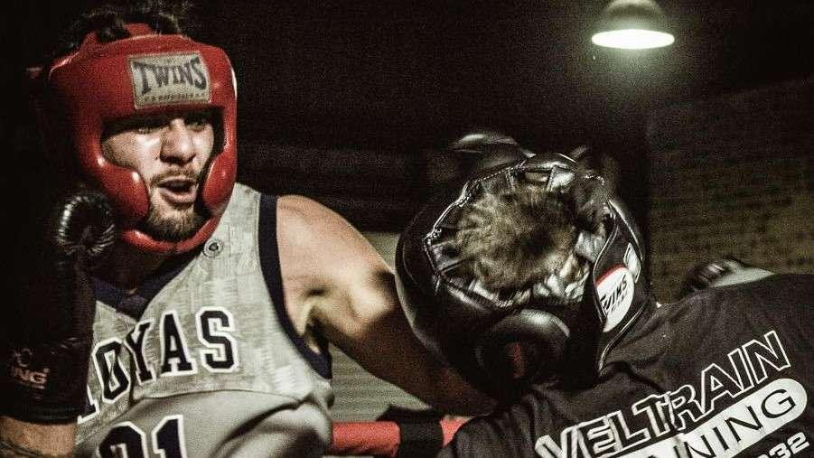 Josh Aloiai boxing