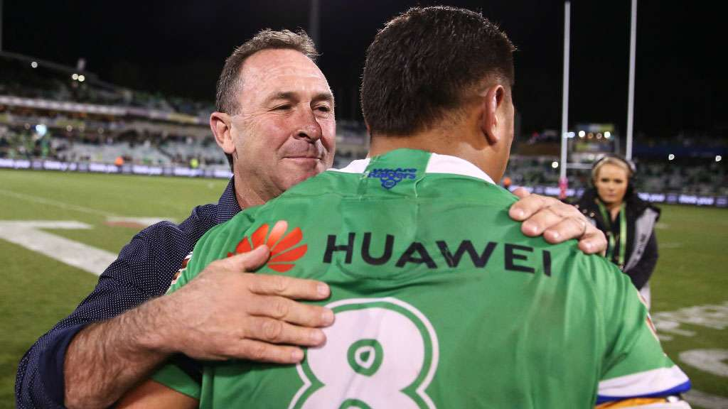 Ricky Stuart and Josh Papalii