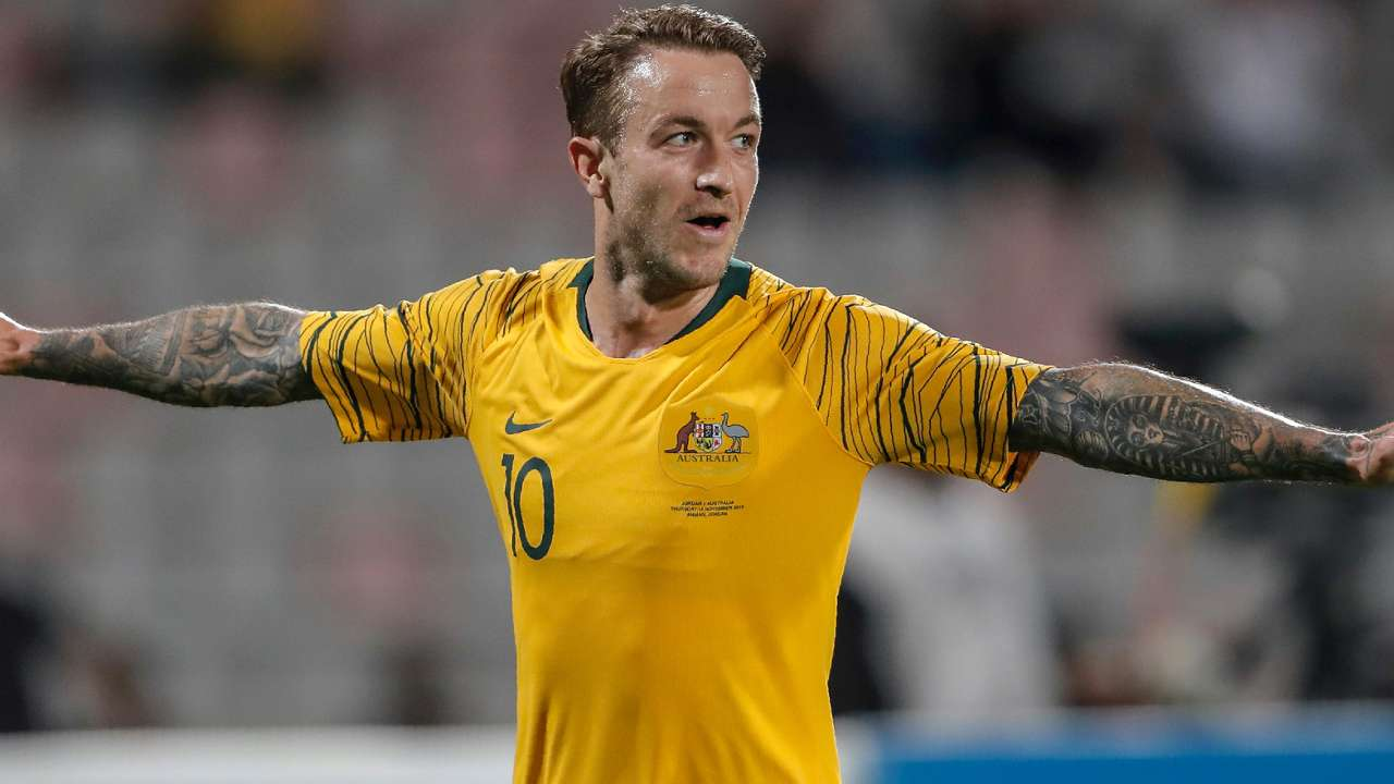 Adam Taggart Socceroos