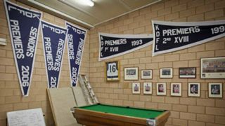 #Ardmona FC club rooms