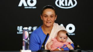 Ash Barty niece press conference