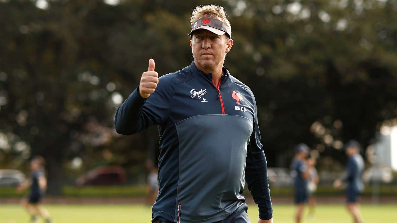 Trent Robinson Roosters coach