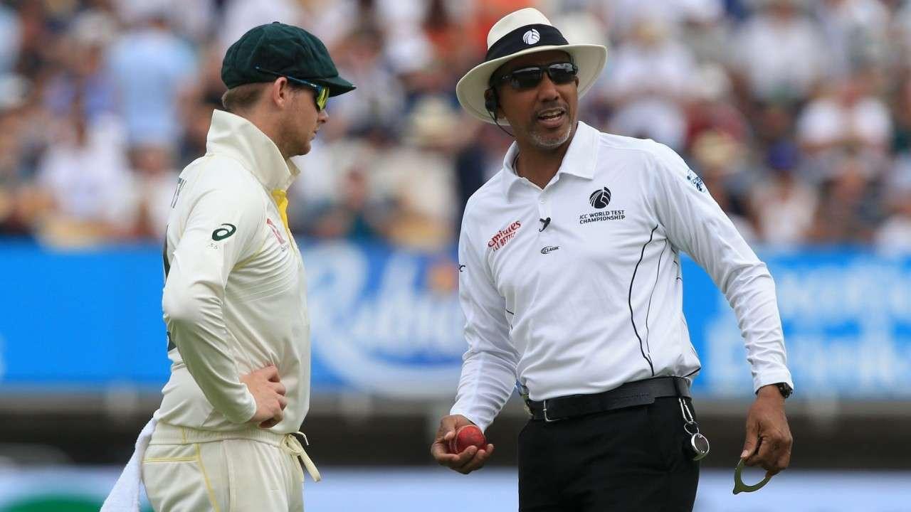 Joel Wilson umpire Ashes Test