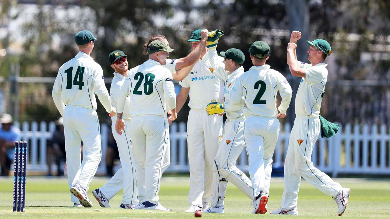 Tasmania sheffield shield