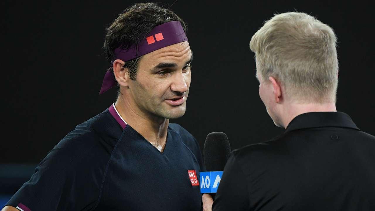 Federer on Kyrgios