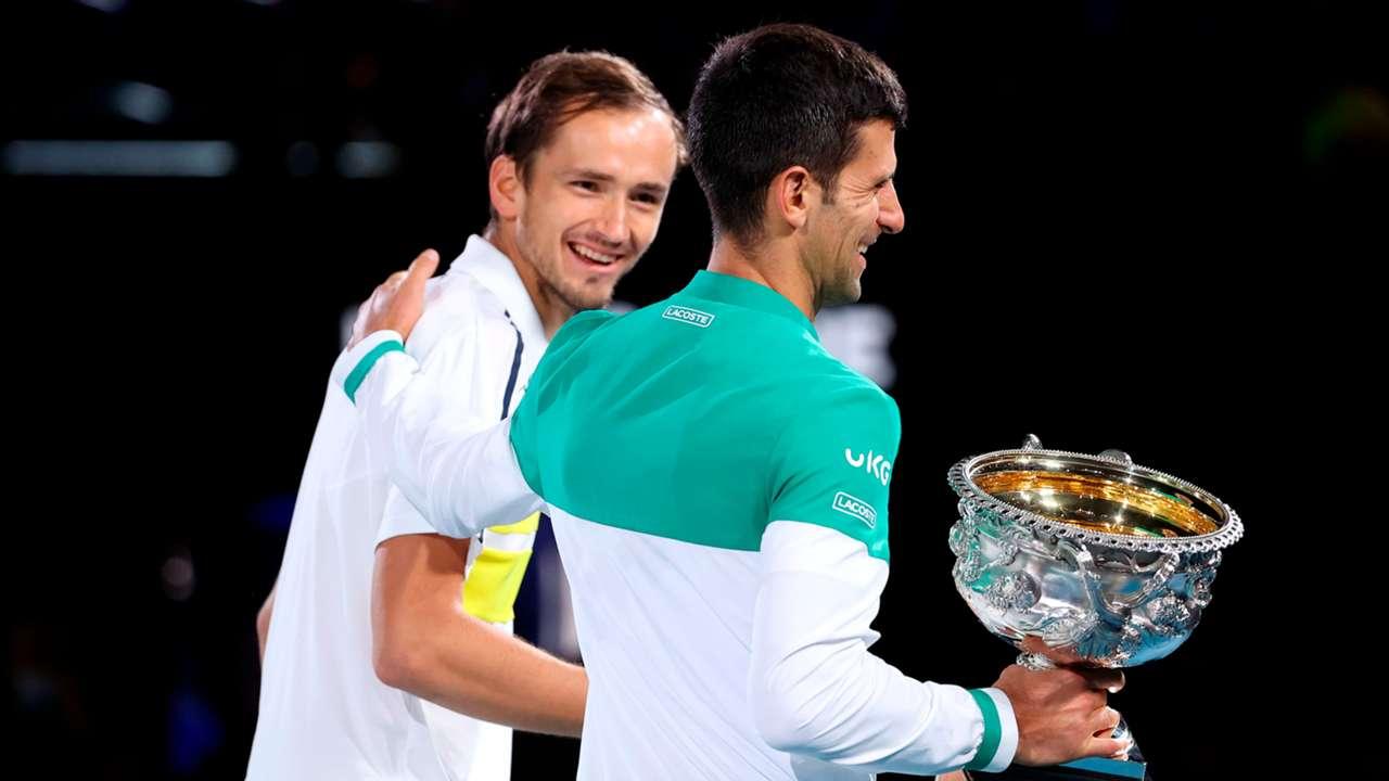 Daniil Medvedev Novak Djokovic Australian Open