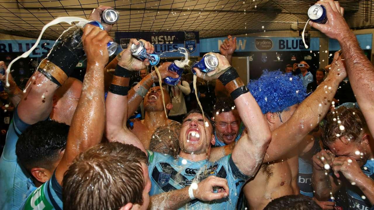 Blues celebrate