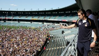 #West Coast Chris Judd Subiaco Oval