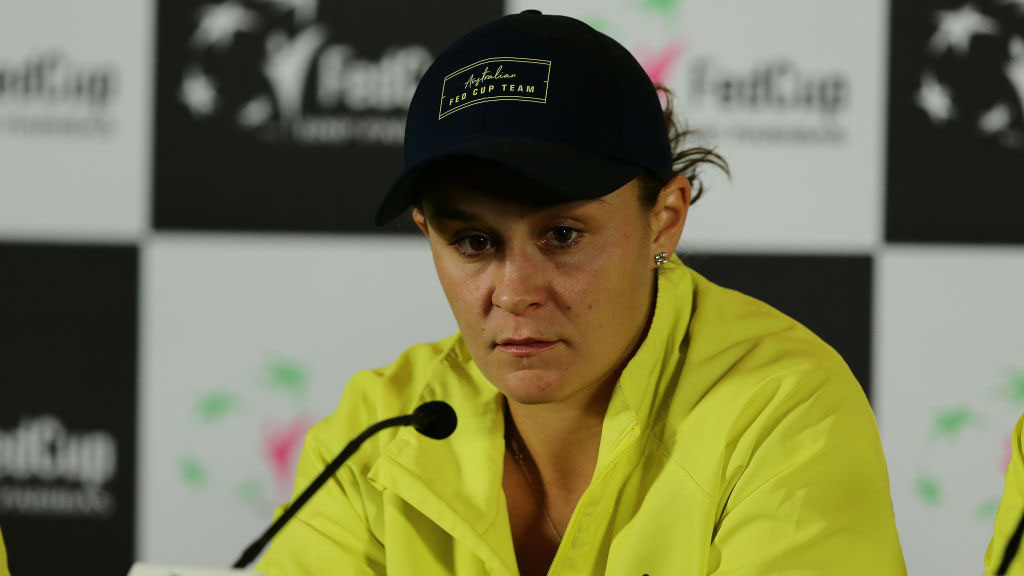 Fed Cup Final: Broken Ashleigh Barty admits Australia loss to France 'a tough one'