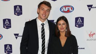 Patrick Cripps and Monnique Fontana