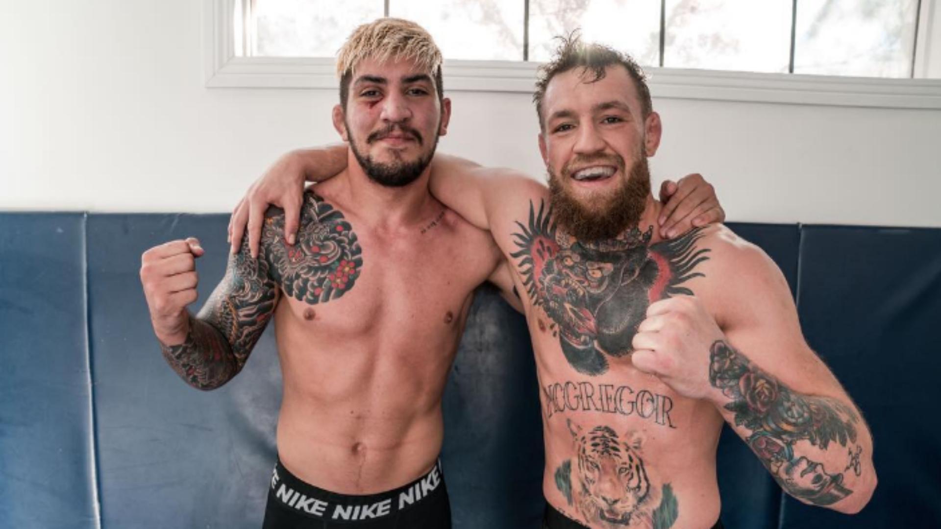 UFC 229: Conor McGregor's teammate Dillon Danis calls out former lightweight champ Rafael dos Anjos after UFC 229 chaos   Sporting News Australia