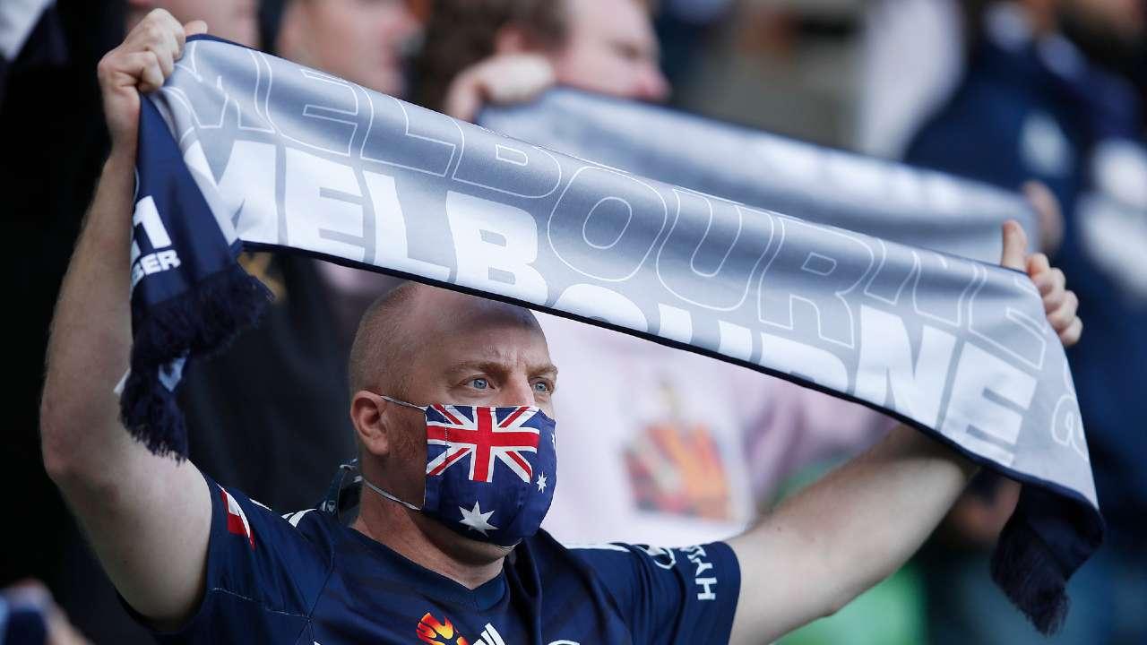 Melbourne Victory fan