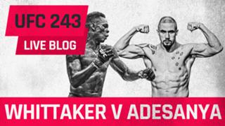 UFC 243 LIVE BLOG