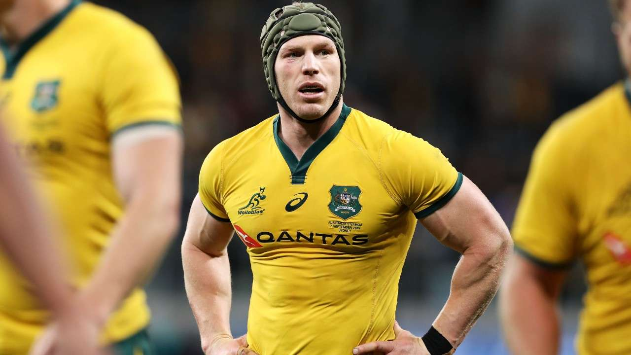 David Pocock Wallabies
