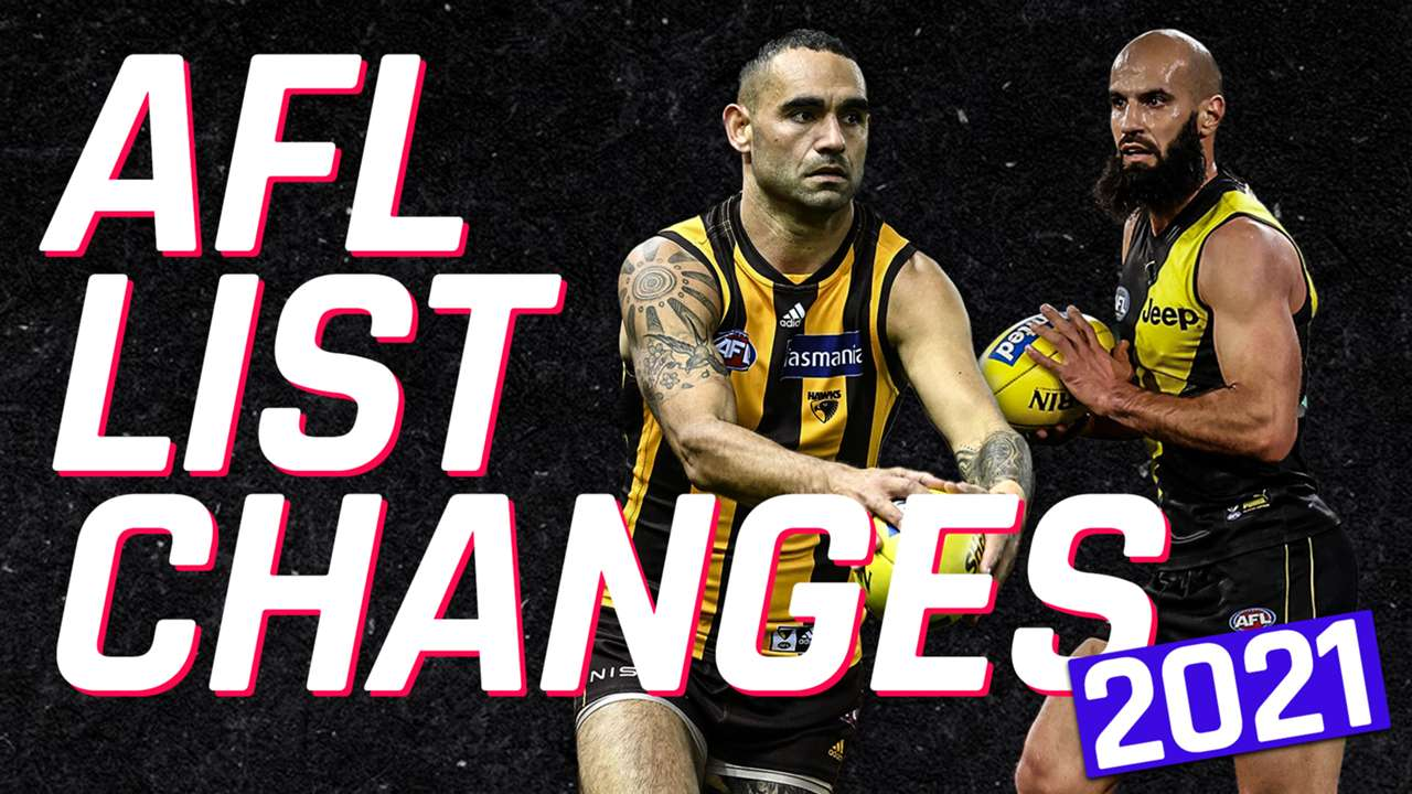 AFL list changes 2021