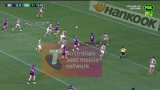 #Anthony Milford  forward pass