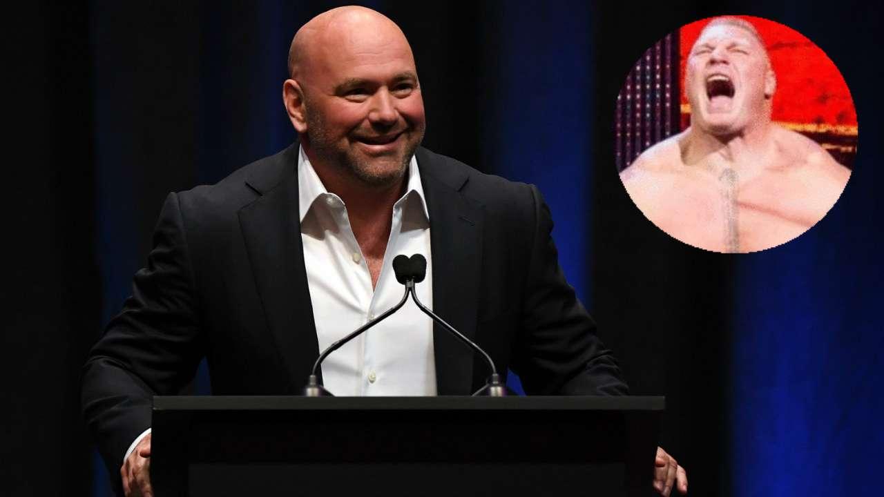 #Dana White Brock Lesnar