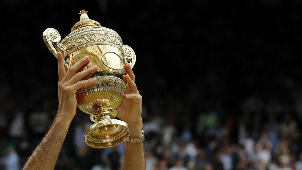 #Wimbledon trophy