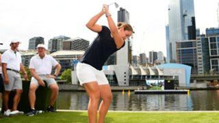 Ash Barty Golf