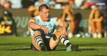 Paul Gallen final game Cronulla Sharks The Lurker