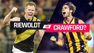 Riewoldt v Crawford pick 13