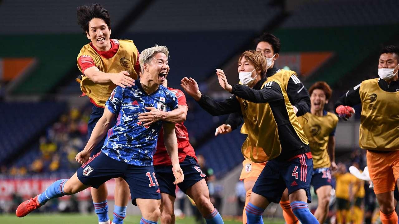 Japan v Socceroos