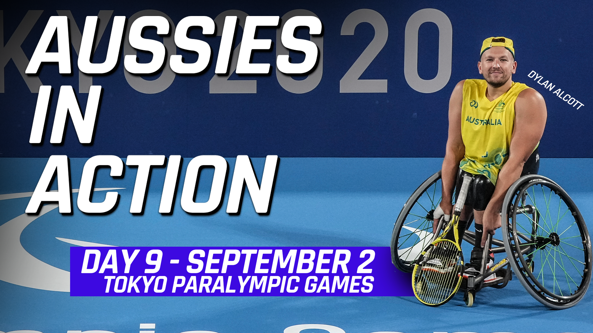 Australian results Tokyo Paralympic Games Day 9, Aussies in action: Four gold medals in an extraordinary night for the green and gold
