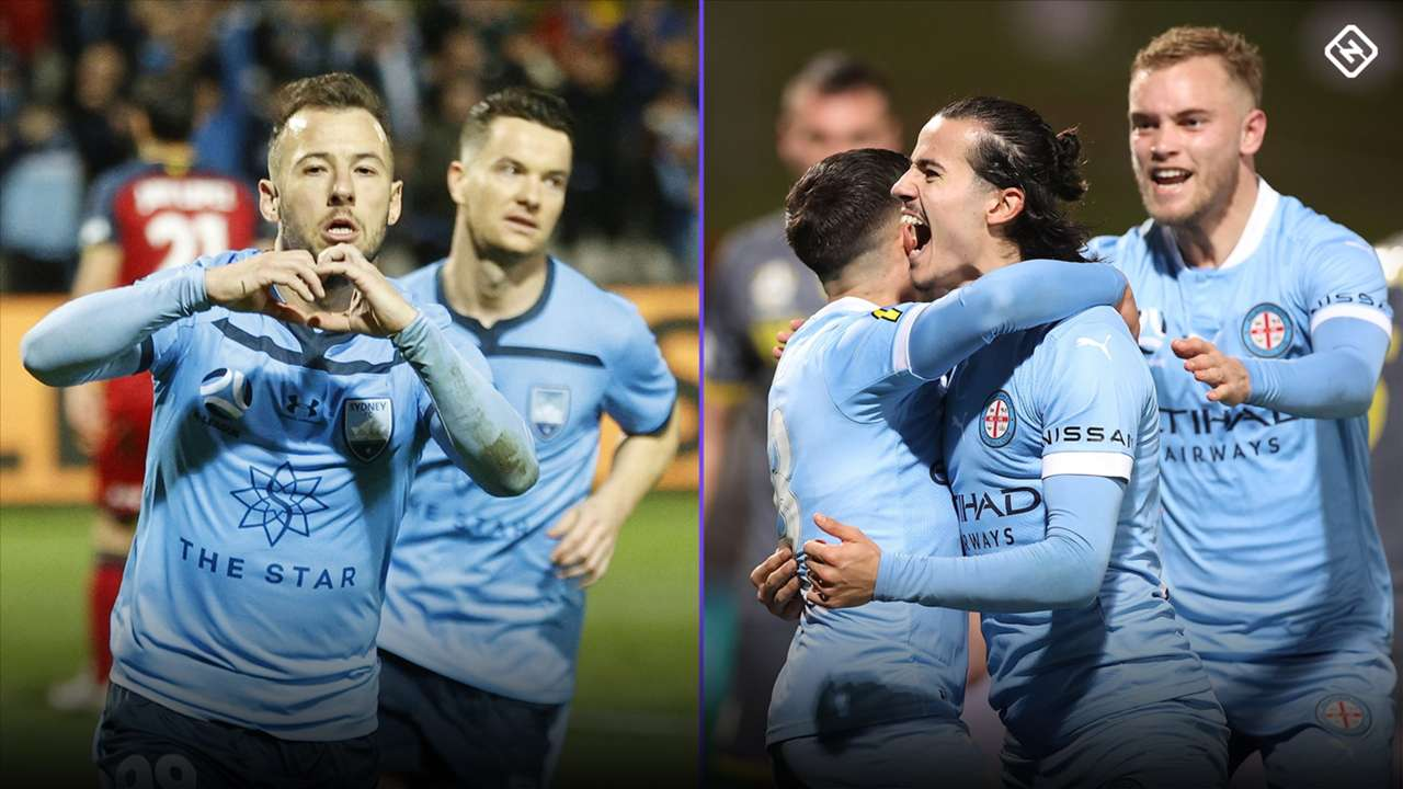 A-League grand final composite