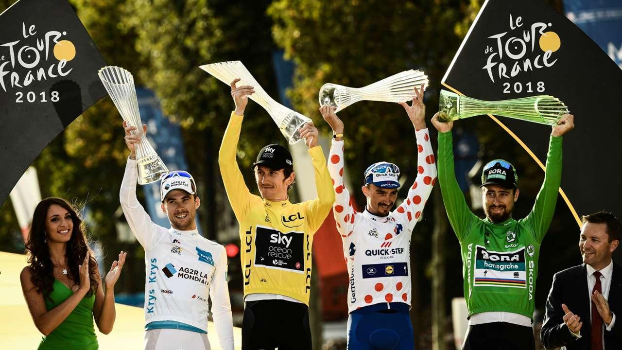 Tour de France jersey winners 2019