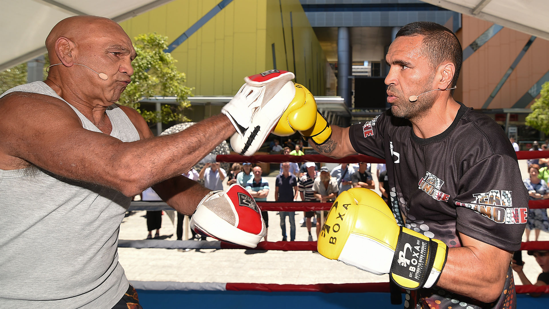 Jeff Horn vs Anthony Mundine weigh-in result - FIGHTMAG