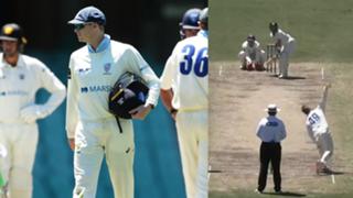 Steve Smith NSW Wicket