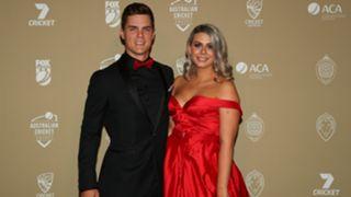 Mitchell Swepson and Jessica Thorpe