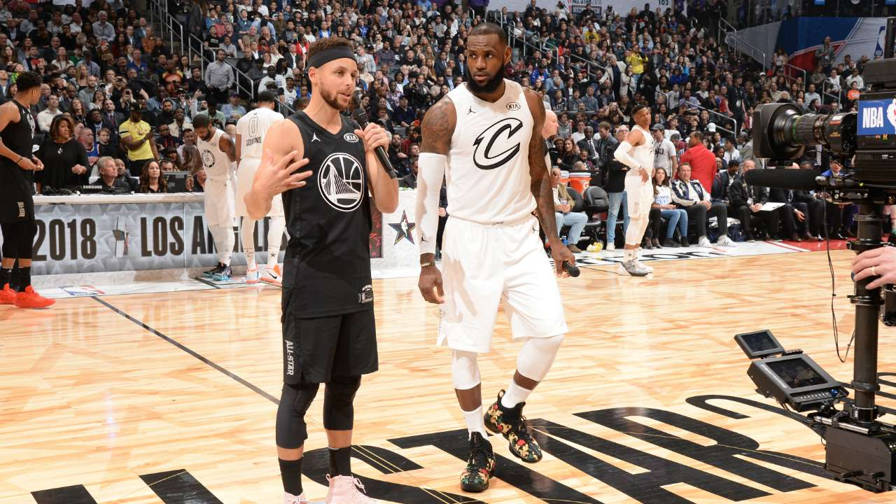 #steph Curry LeBron James