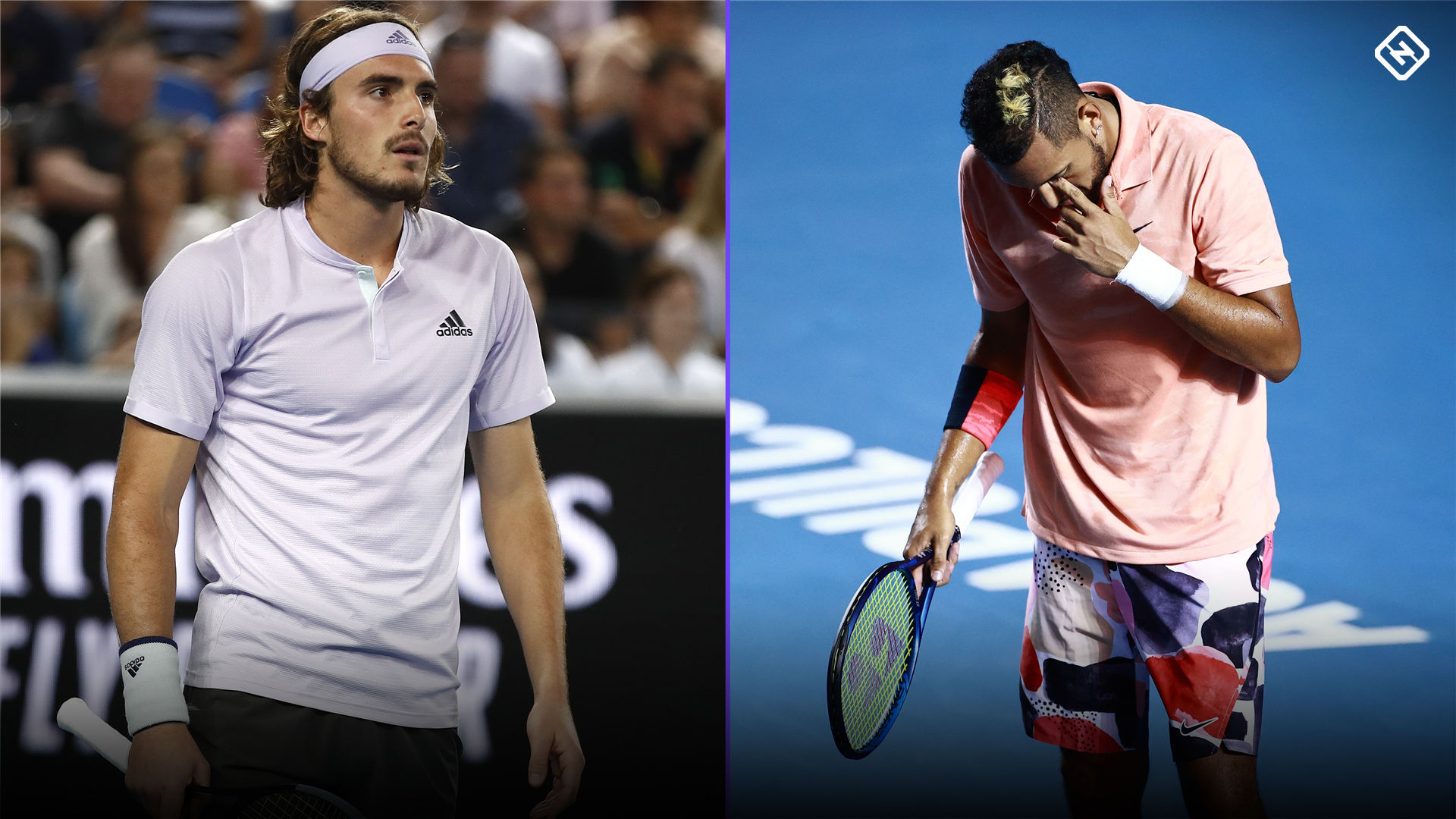 Nick Kyrgios Stitched Up By Greek Star Stefanos Tsitsipas After Phone Number Goes Viral On 25th Birthday Sporting News Australia