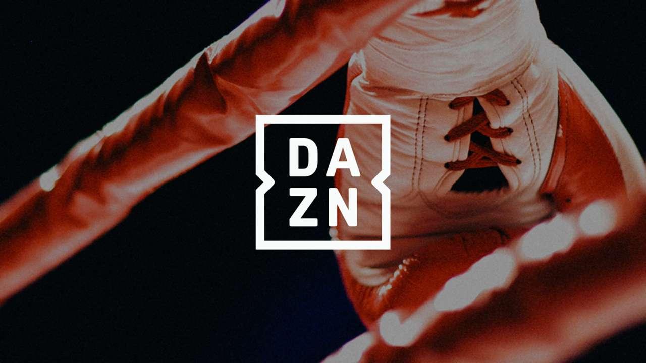 DAZN holding shot