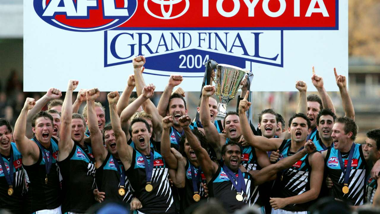 #2004 AFL Grand Final premiership Port Adelaide Power