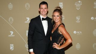 Peter Handscomb and Sarah Ray
