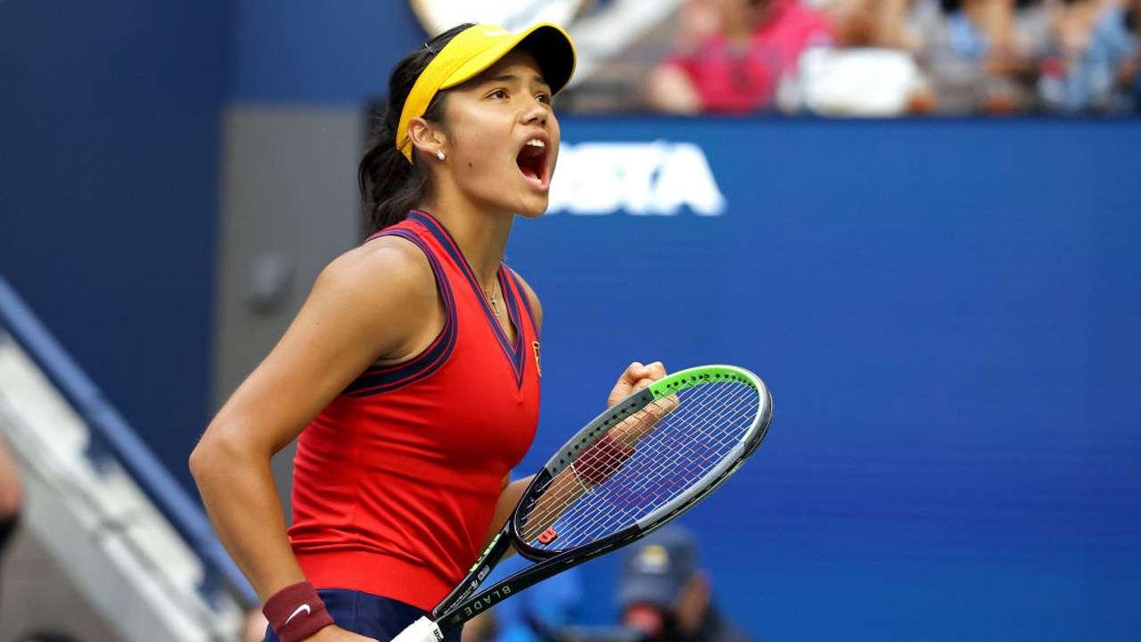 Emma Raducanu US Open
