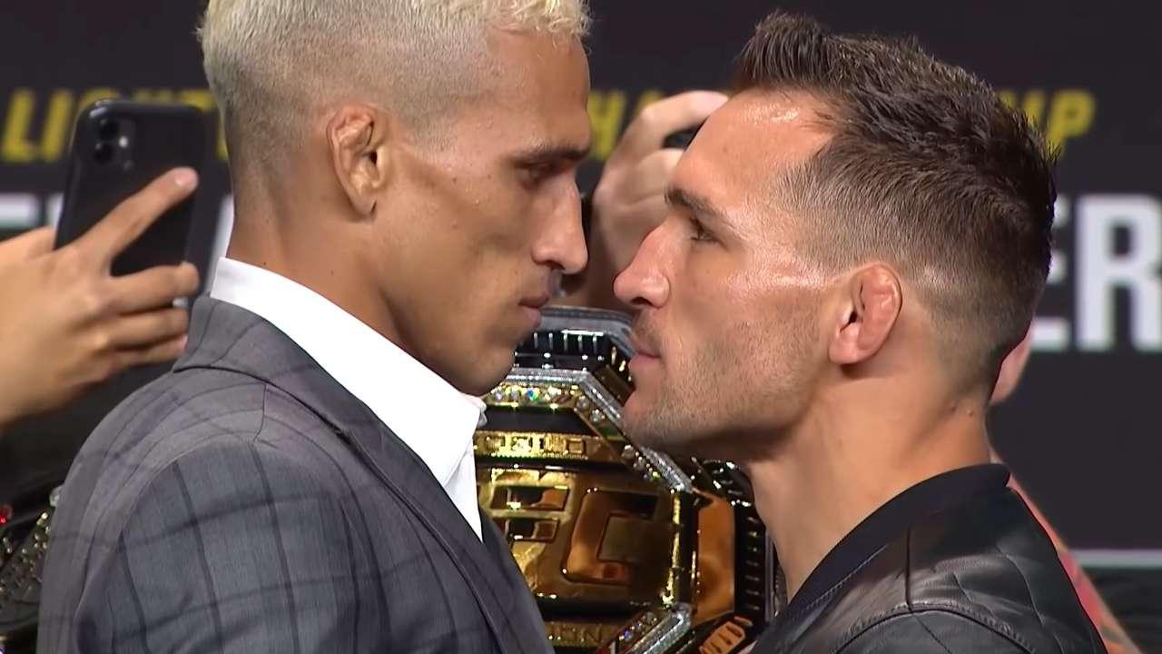 UFC 262 oliveira chandler