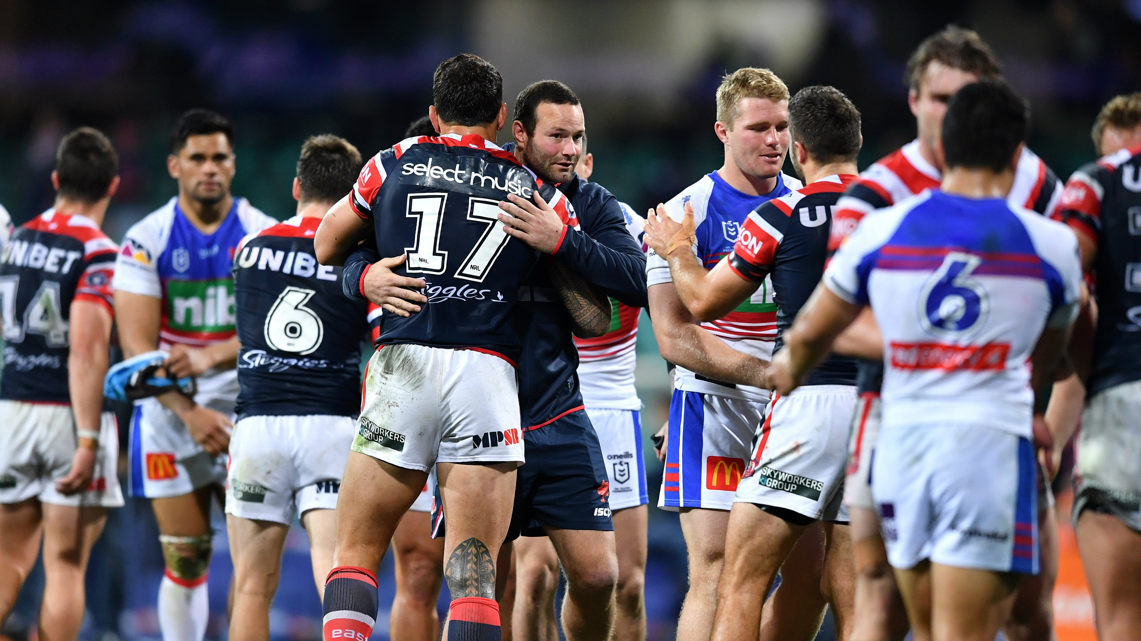 Boyd Cordner ruled out of Sharks clash as Trent Robinson defends club's handling