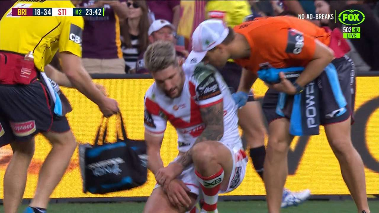 #gareth widdop injury