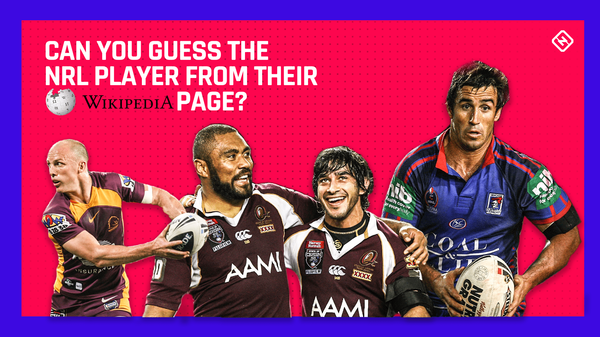 Nrl Can You Guess The Nrl Player From Their Wikipedia Stats Sporting News Australia