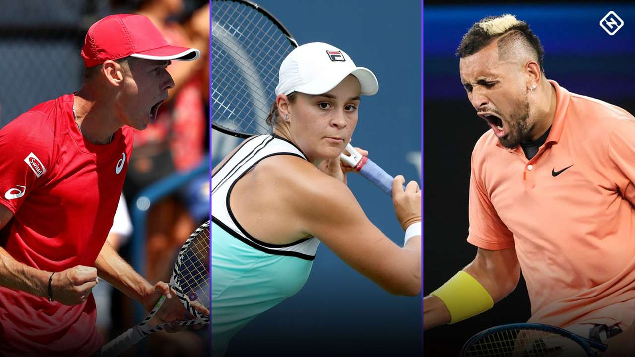 Aussies tennis split