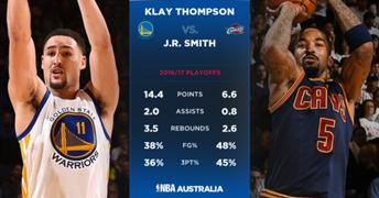 Klay vs Jr