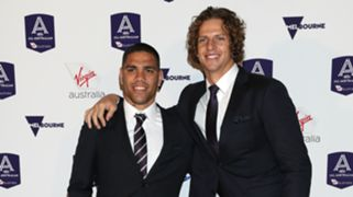 Michael Walters and Nat Fyfe