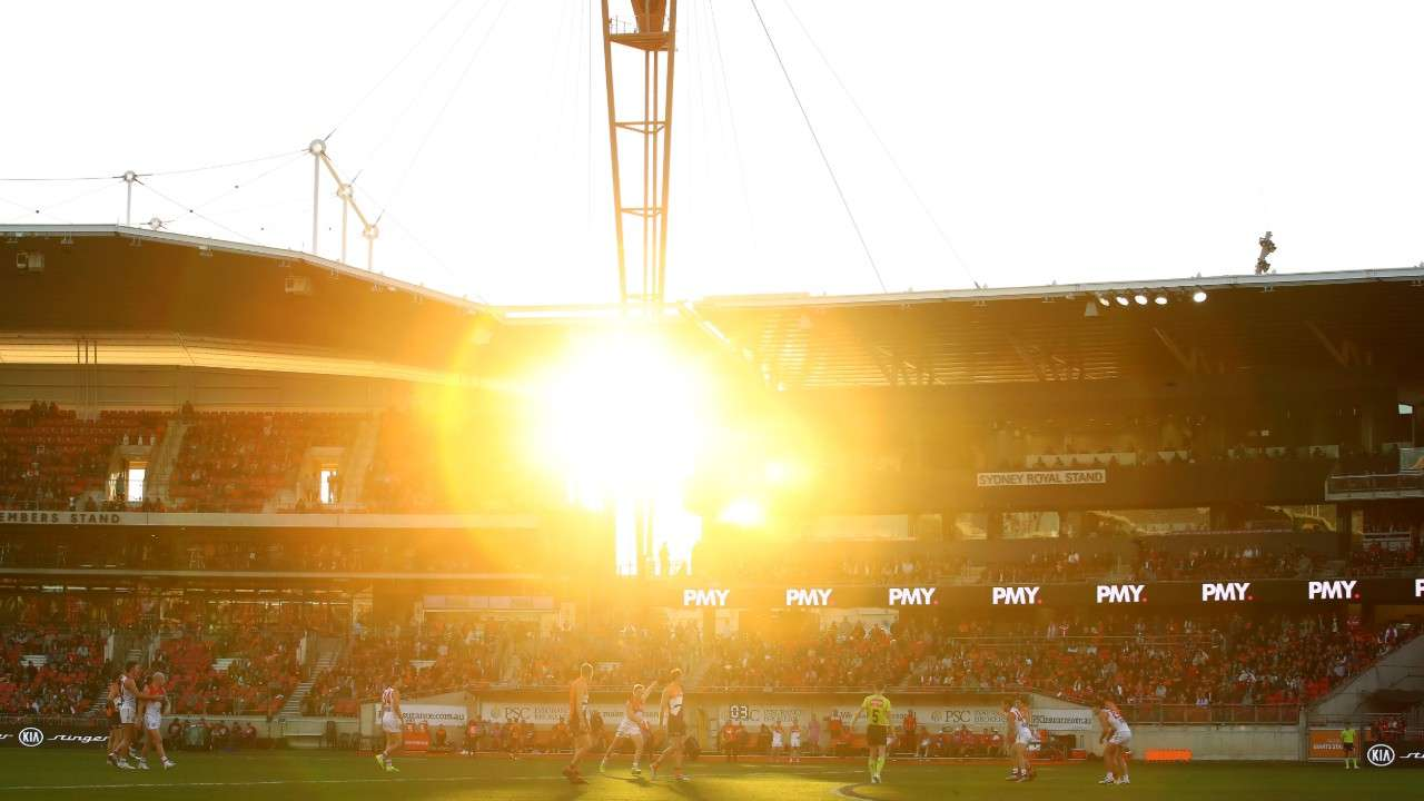 A record low attendance appeared for Sydney derby XVIII.