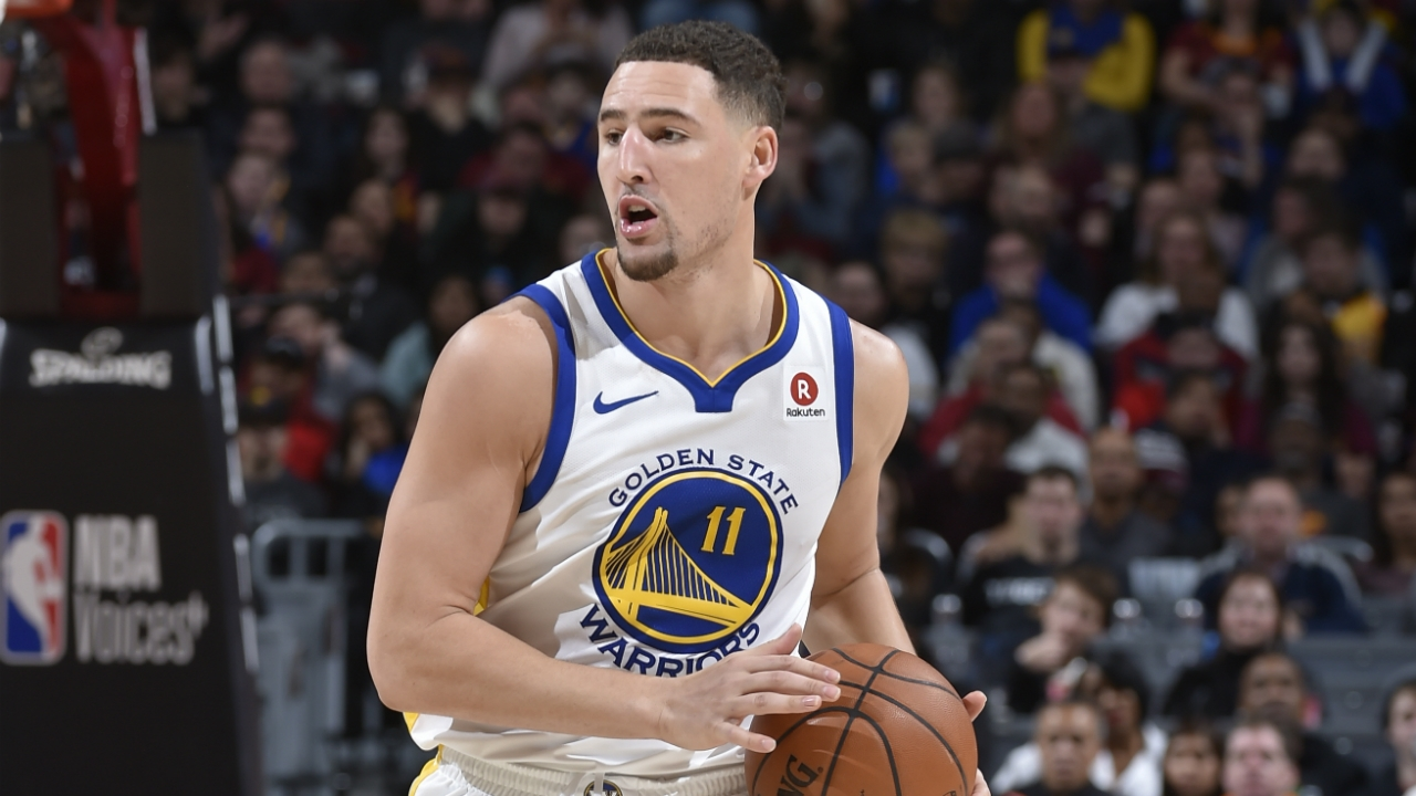 Klay Thompson discussing contract ...
