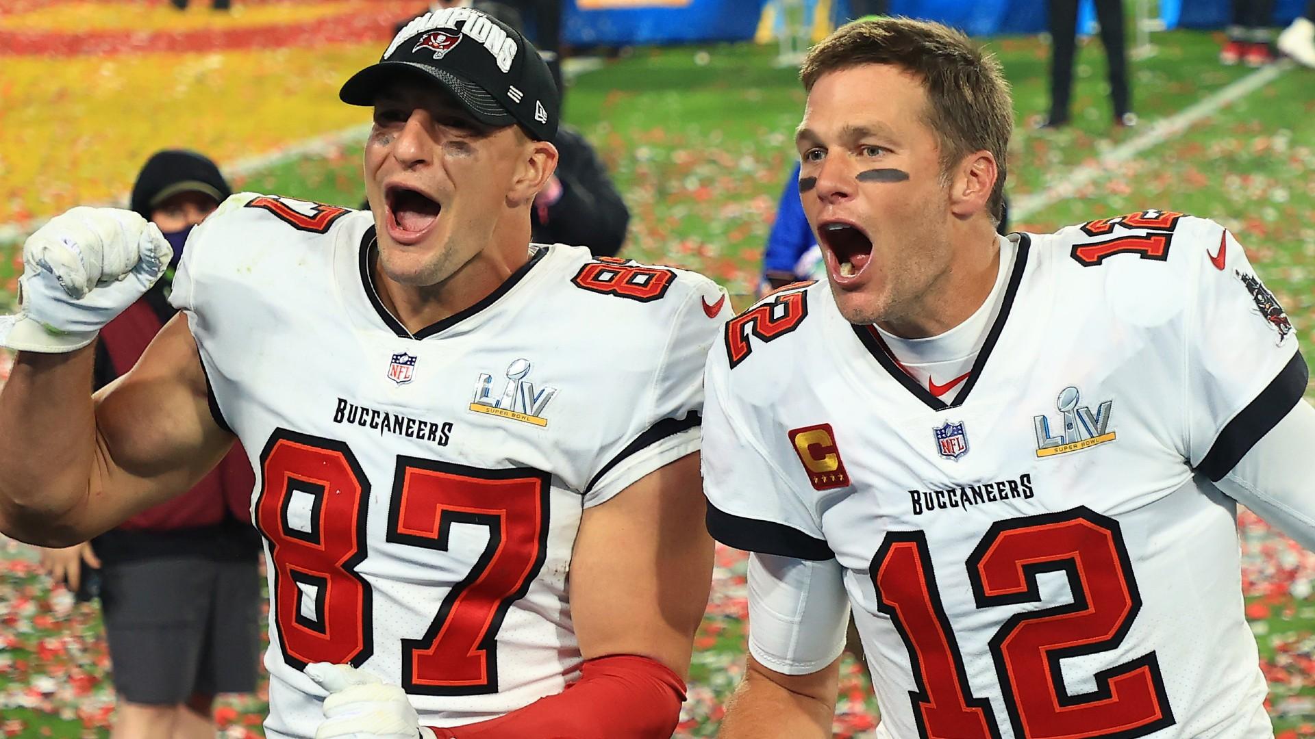 Patriots congratulate Bucs' Tom Brady, Rob Gronkowski for winning ...