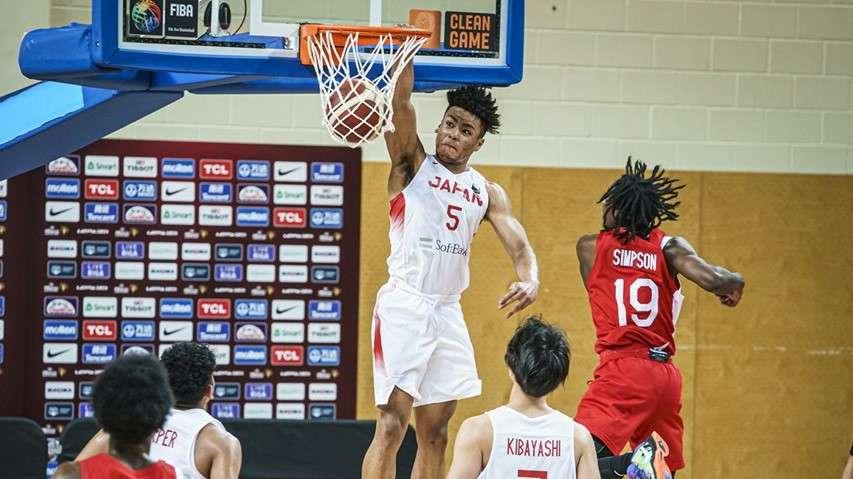 Java Eo Yoneyama FIBA U19 WC Japan vs Canada